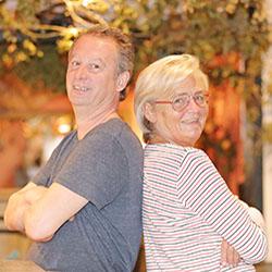 Sonja Reul und Thierry ...